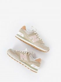 new style 96629 bc3d1 New Balance WL 574 BCA Tumbleweed/Beige | Shoes in 2019 ...