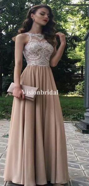 Classy Top Lace Illusion #formaldresses