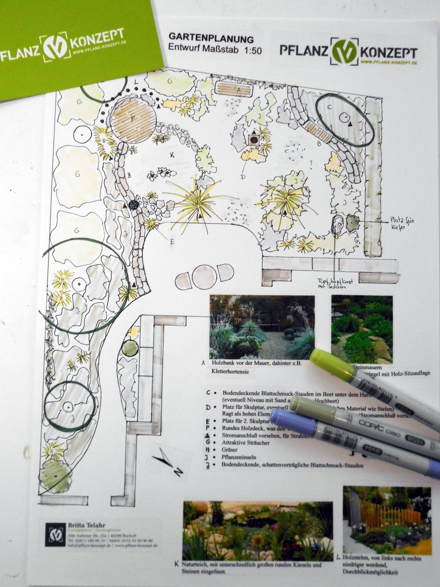 Planung Und Umsetzung Ihres Gartens Pflanz Konzept Garten Pflanzen Pflanzen Garten