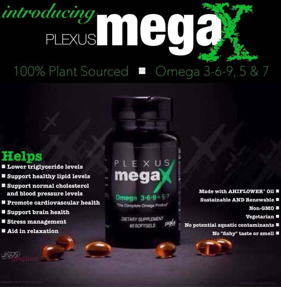 Plexus Megax Combines The Benefits Of Omega 3 6 9 5 And 7 All