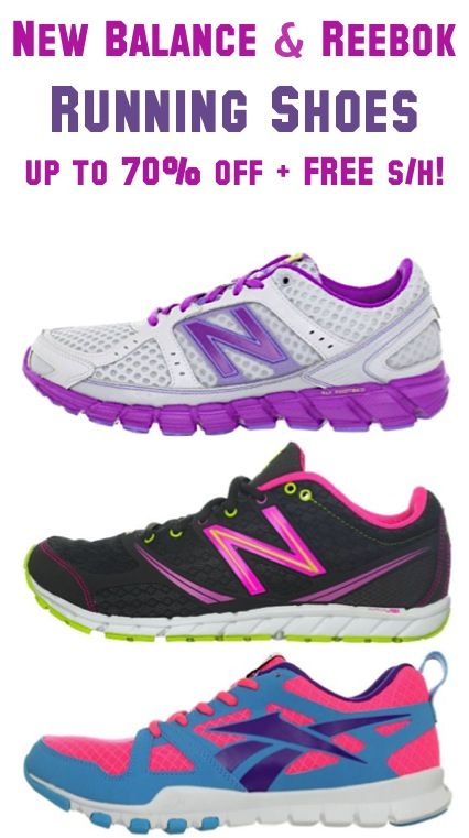 b62494db10e54e New Balance and Reebok Running Shoes  up to 70% off + FREE Shipping!!  shoes