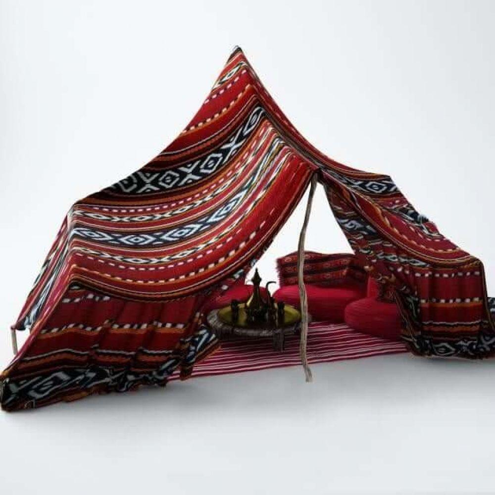 Arabic Tent 3d Model Bedouin Tent Tent Design Tent