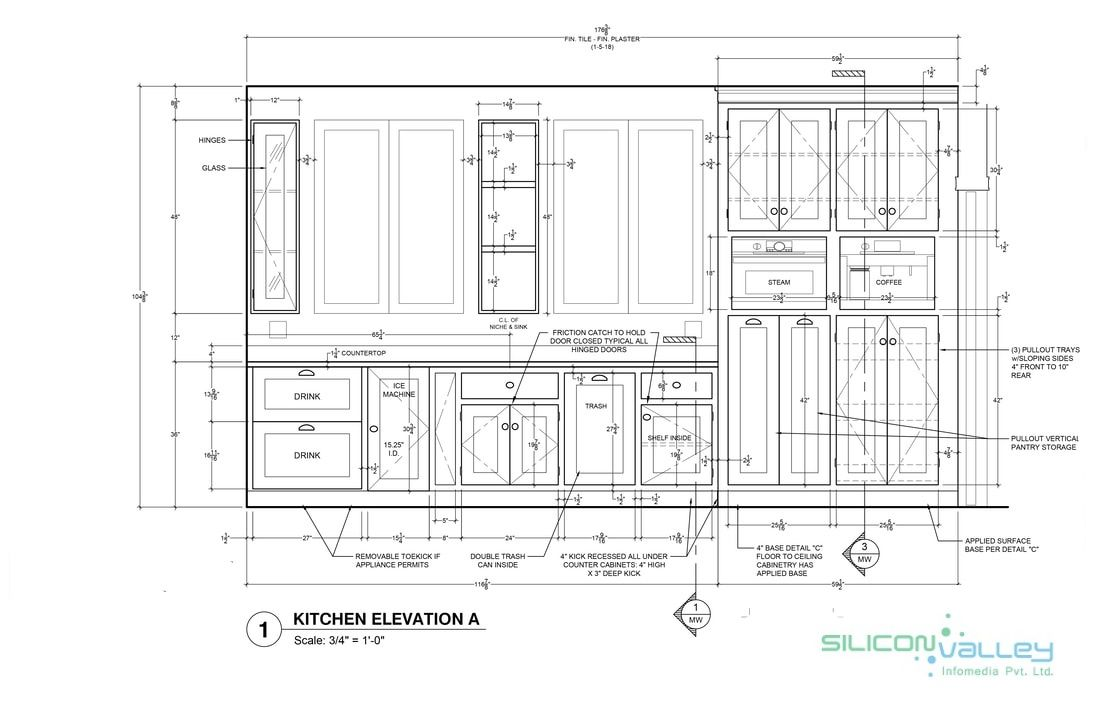 #Siliconinfo offers #Millwork #Shop #Drawings to #