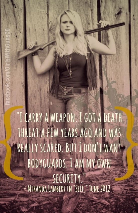 a reason this woman is one of my idols. #Badass | MY GUNS | Armas