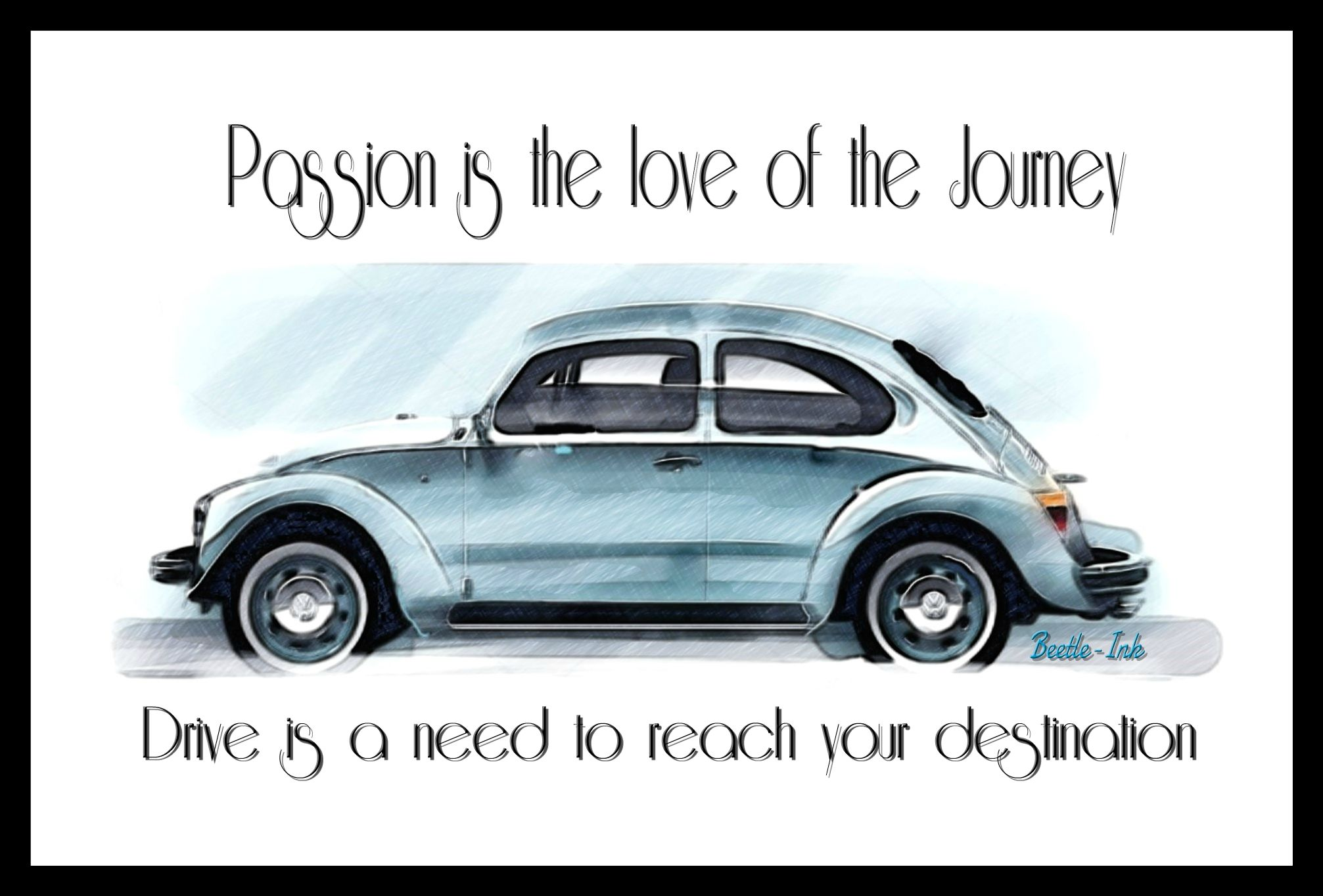 Vw Beetle Inspirational Quote Classic Cars Vintage Classic Cars Harley Davidson