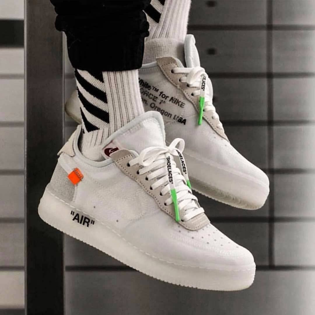 air force the ten off white