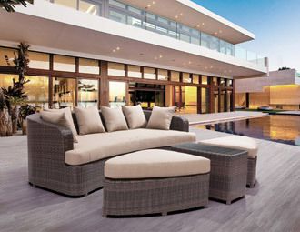 zuo outdoor furniture sleek furniture for a posh fall patio for