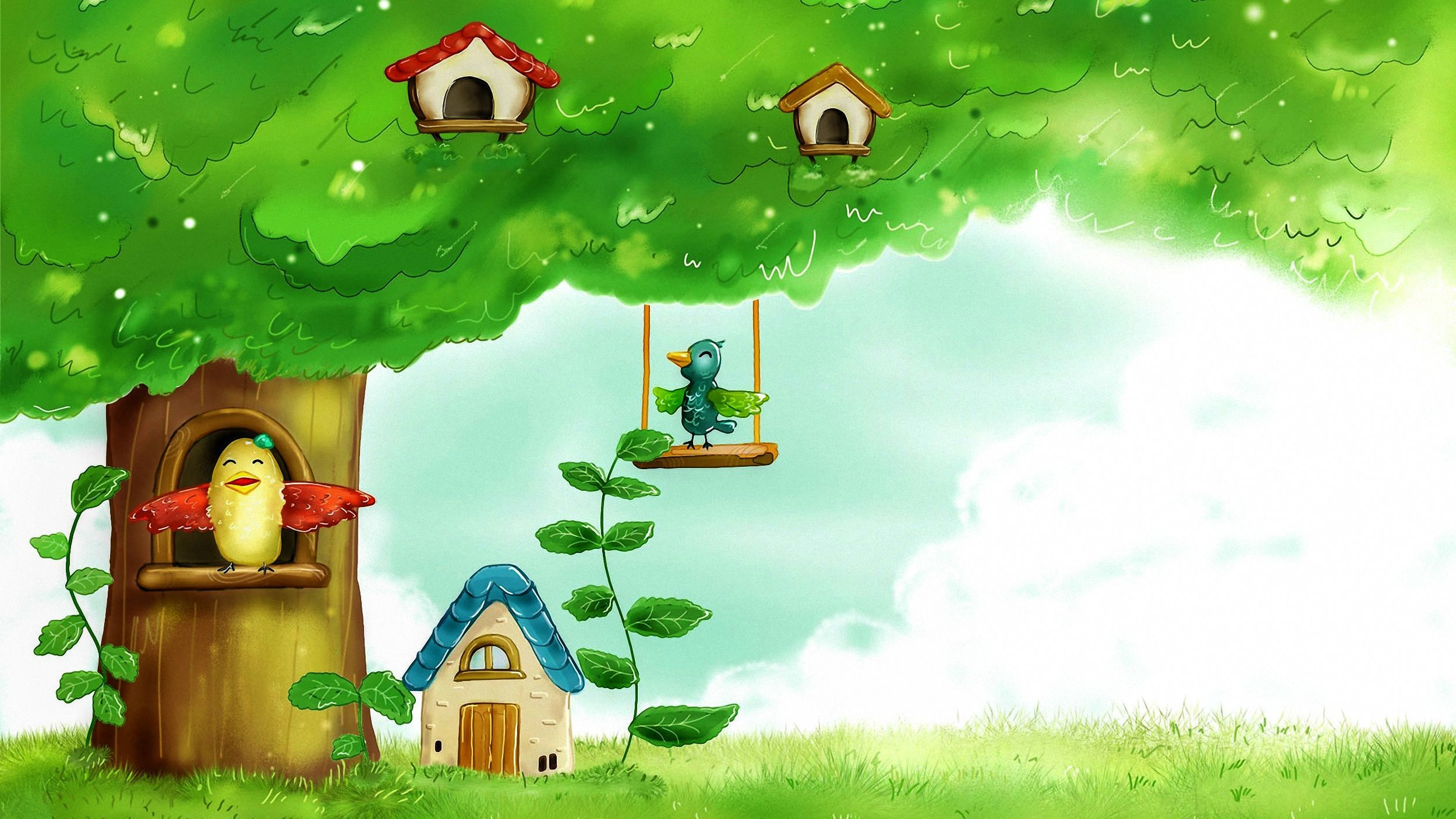 Beautiful Summer Landscape 2 HD Wide Wallpaper For Widescreen. Latest  Cartoons ...