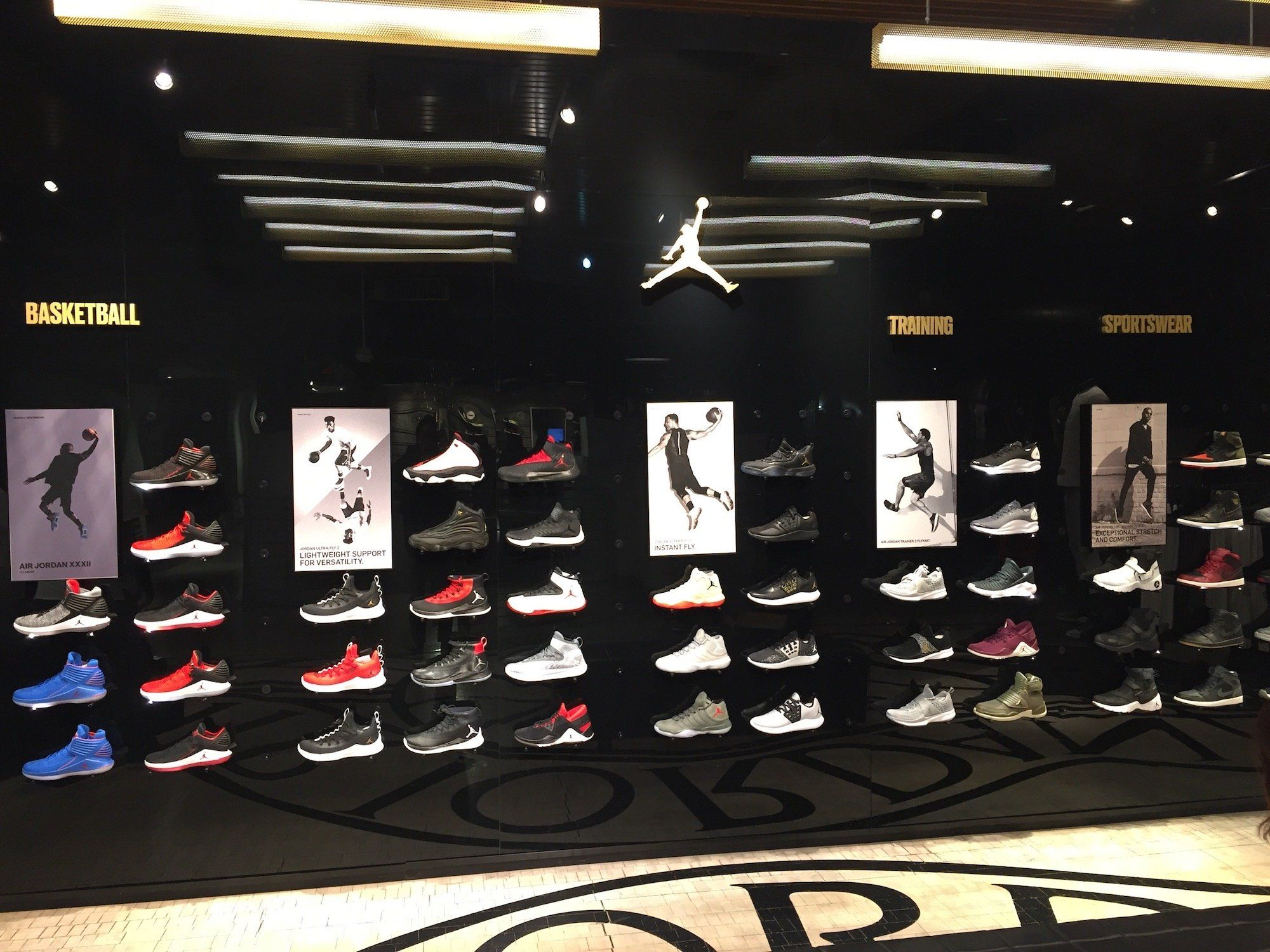 69dd03f2b We visited the flagship stores of Nike and Adidas in New York City and the  winner was obvious