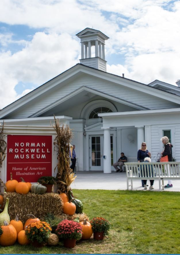 Norman Rockwell Museum.  Visit our website for more New England.