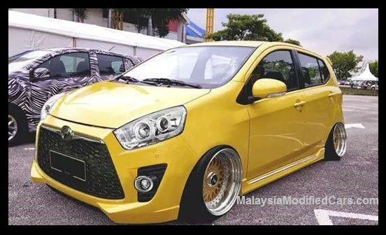 Modified Perodua Axia Malaysia Modified Cars