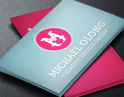 Check Out New Work On My Behance Portfolio Creative Group Business Card Template