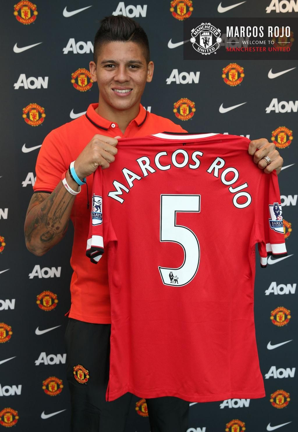 Marcos Rojo Will Wear The No 5 Shirt For Manchester United Rojoisred Manchester United Manchester United Players Manchester United Football Club