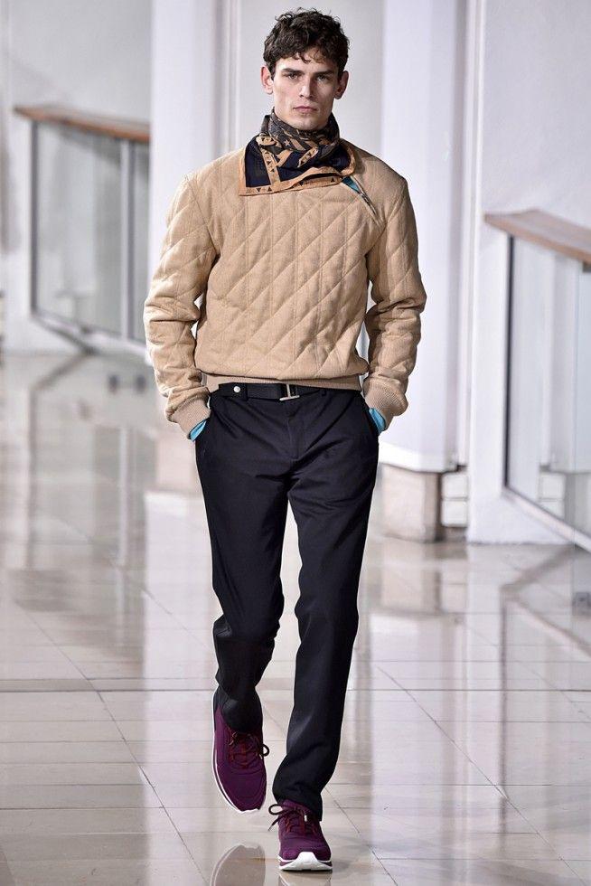 Hermes Paris Masculino - Inverno 2016 foto: FOTOSITE   My ...