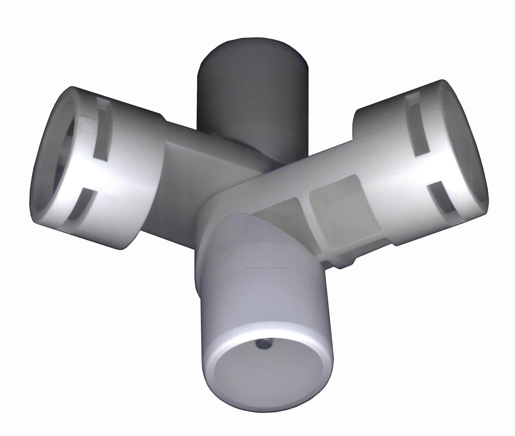 White pvc fittings creative shelters adjustable way