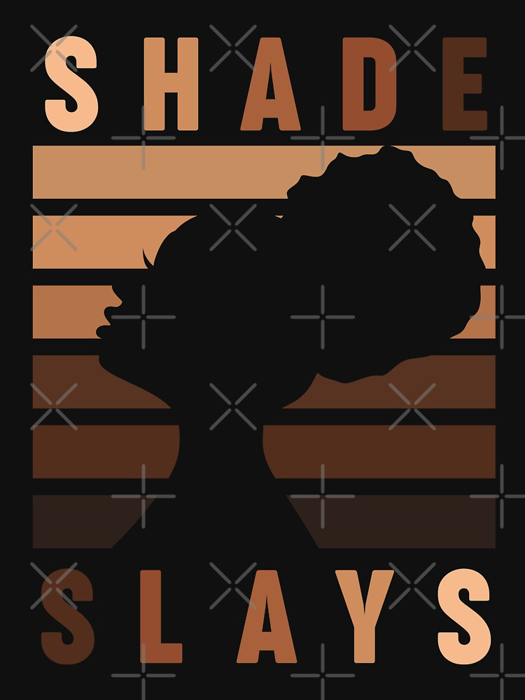 Every Shade Slays Melanin Queen Tshirt Essential T Shirt By Starengucrew In 2021 Black Lives Matter Art Black Art Pictures Black Love Art