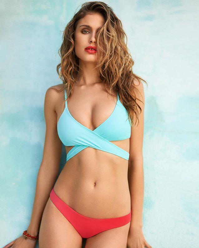 Most beautiful girl in bikini