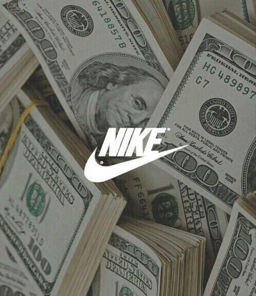 Nike Money And Dollar Image Nike Wallpaper Nike Wallpaper Iphone Nike Background