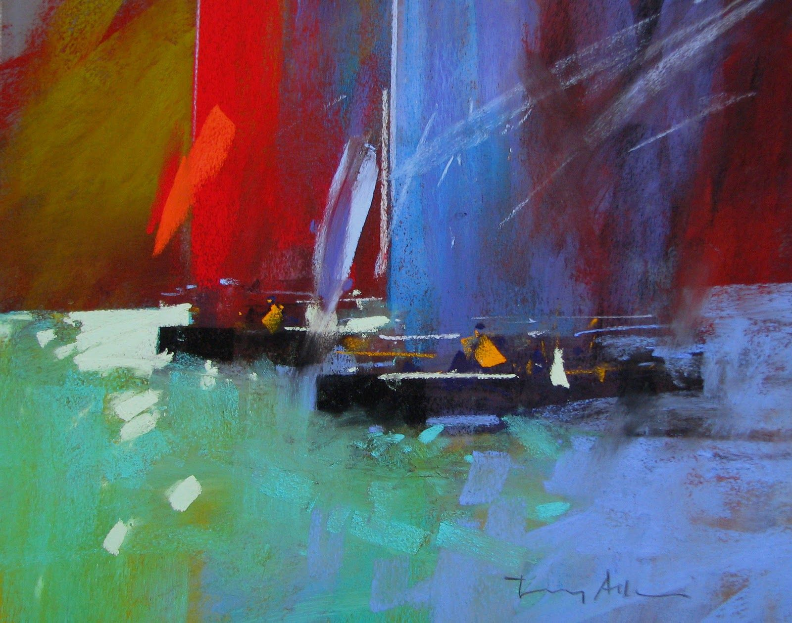 Pinturas Color Pastel Tony Allain Dpanz Psa Colour And Light Tony Allain