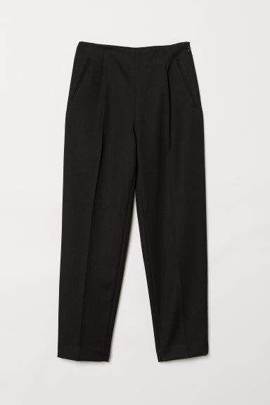 Photo of Wool-blend Pants – Black – Ladies   H&M US