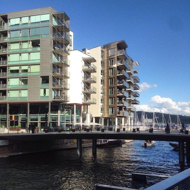Moderne Arkitektur Tjuvholmen Oslo Modern Moderne Arkitektur