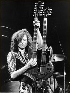 Jimmy Page- The Greatest. And yes, that is the duck face!