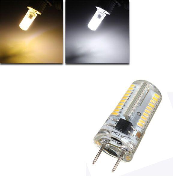 G8 Dimmable Led Bulb 3w Smd 3014 80 Pure White Warm White Silicone Light Lamp Ac 110v 220v Led Light Bulbs From Lights Lighting On Banggood Com Dimmable Led Led Bulb Led Light