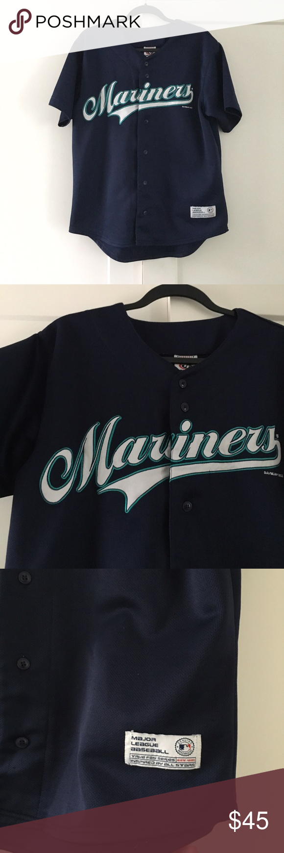 cheap for discount 0ce29 23573 Seattle Mariner's Ichiro Baseball Jersey Not listed brand ...