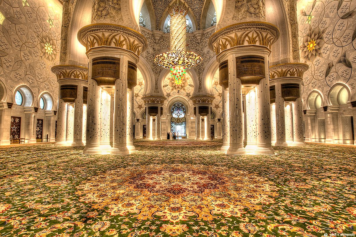 The Grand Mosque, or Sheik Zayed Mosque in Abu Dhabi...so extravagant! | Grand mosque, Mosque, Sheikh zayed grand mosque