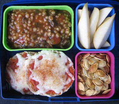 2. Healthy Recipes- English Muffin Pizza #momselect #backtoschool