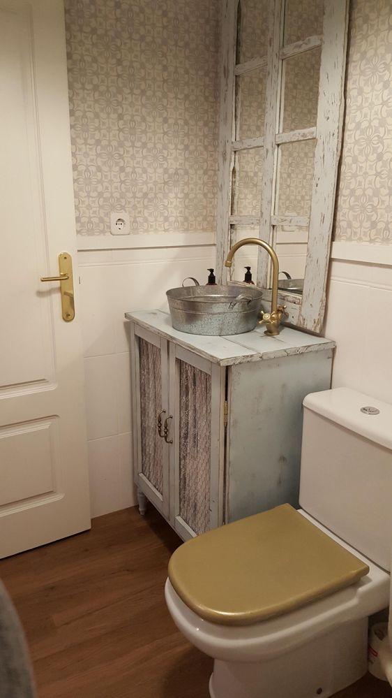 Re: Reforma de baño sin obras   Como decorar un baño ...