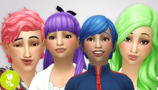 Sims 4 Not So Berry Challenge Hair, makeup, clothing), but brightly colored skin is not necessary (these aren't actually berry sims, that's. wallpaper games for iphone