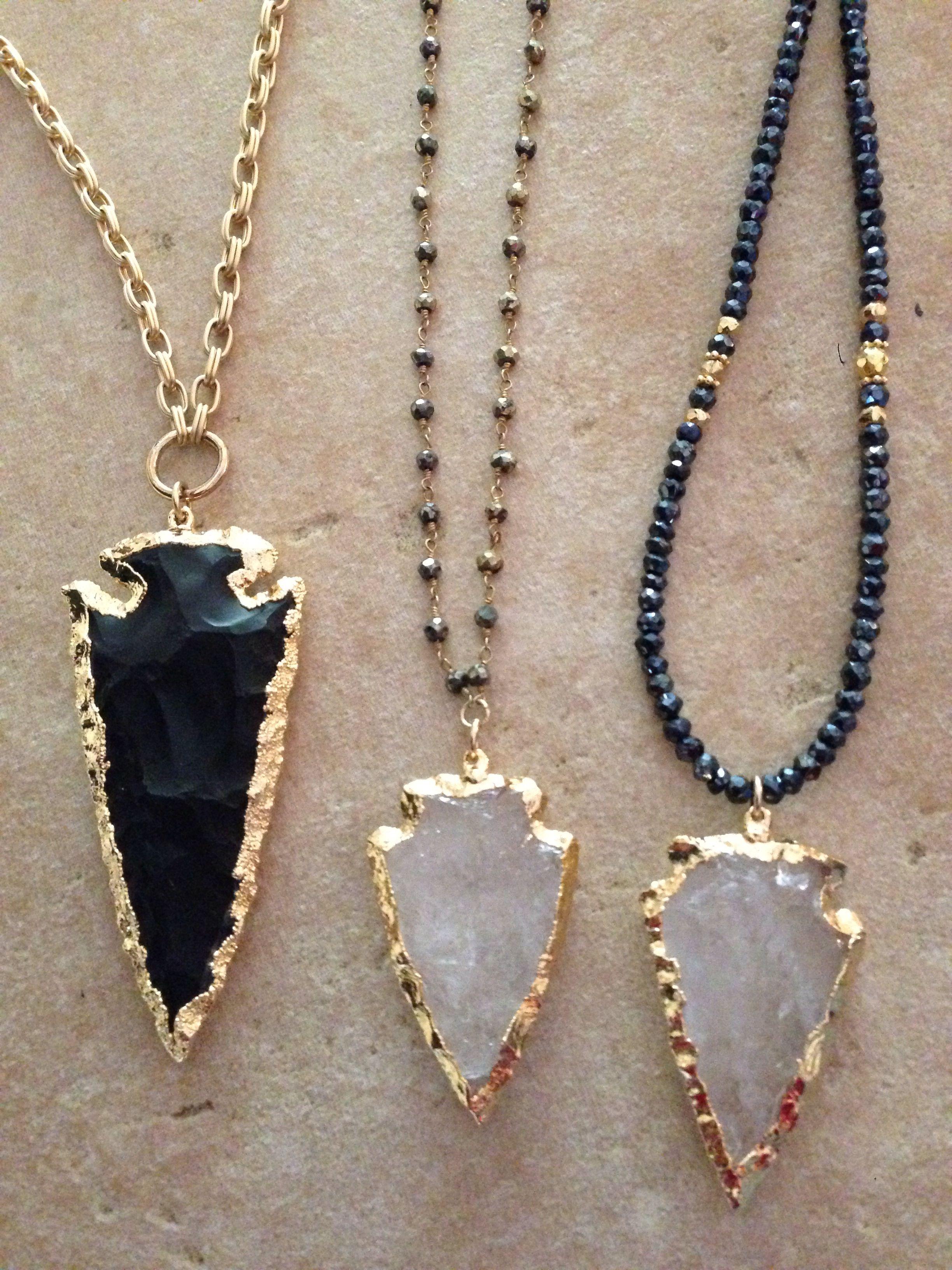 ❤️arrowhead necklaces