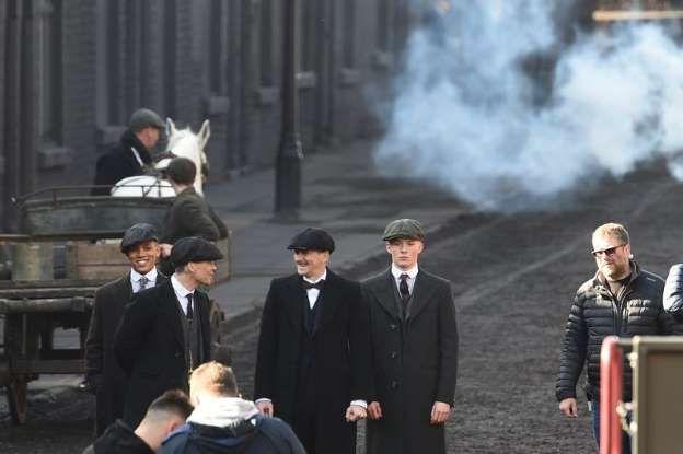 Peaky Blinders filming Season Four Credits: LIVERPOOL ECHO