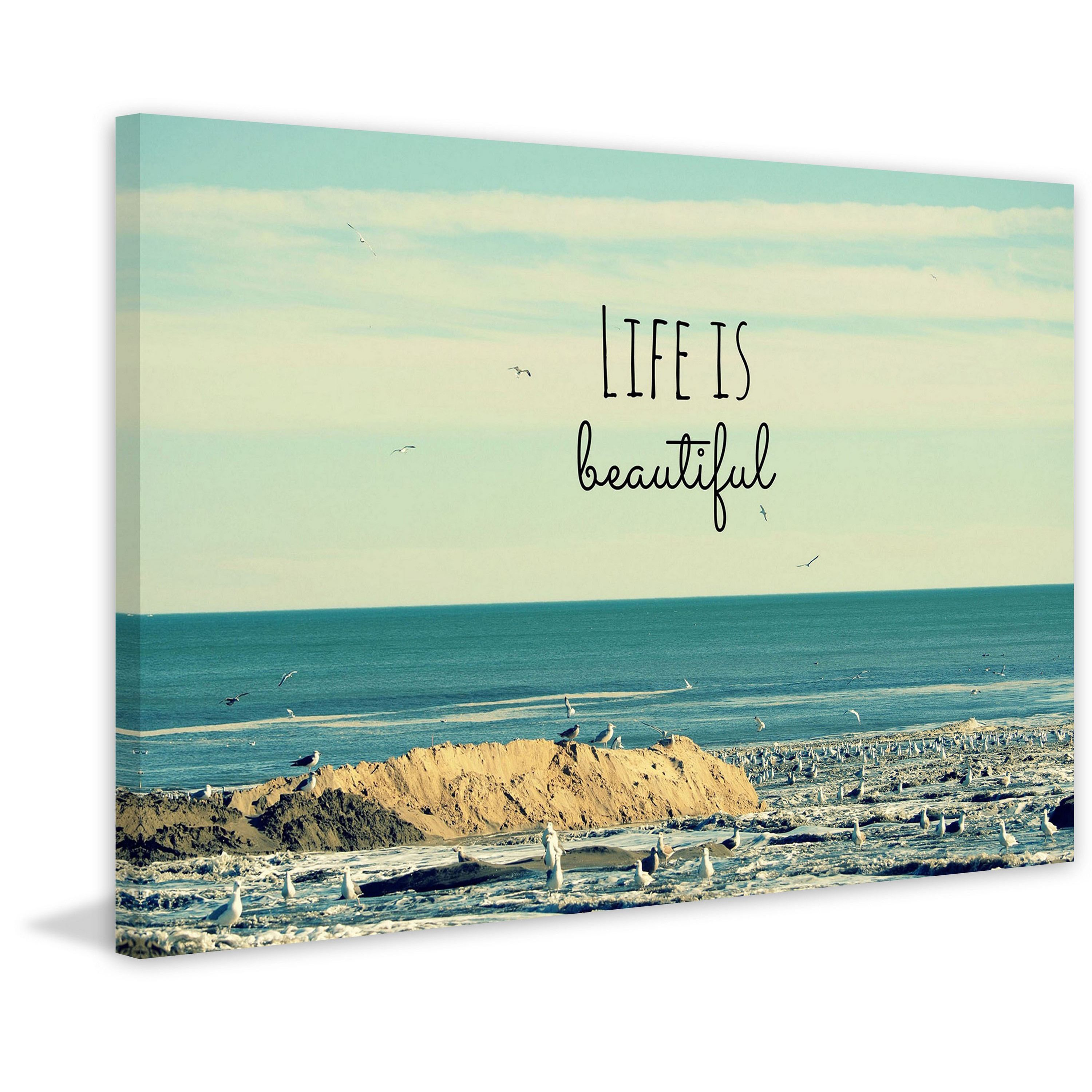 Marmont Hill - 'Life is Beautiful' by Robert Dickinson Painting Print on
