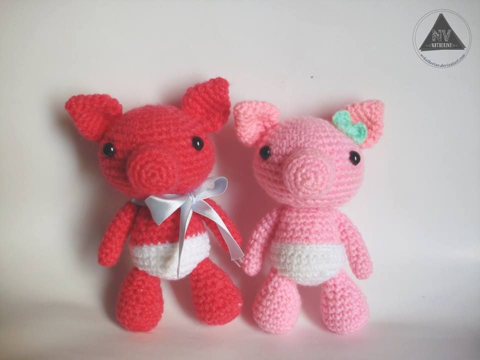 Piglet Amigurumi Free Pattern : Pammy the piglet piglets amigurumi patterns and free pattern