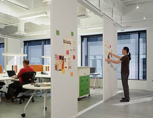 Office With Flexible Whiteboard Partitions Google Search