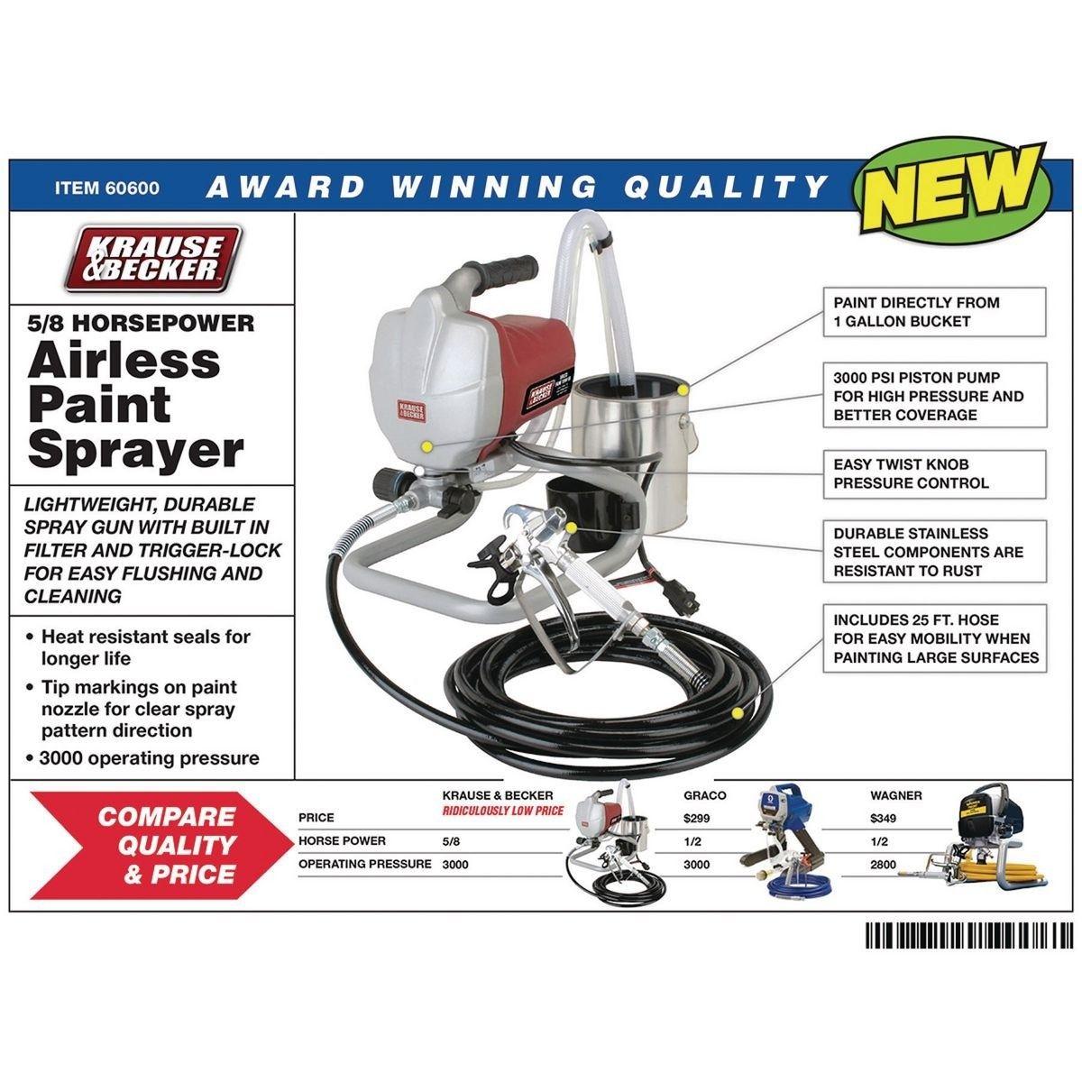Airless Paint Sprayer Kit Paint Sprayer Reviews Paint Sprayer Sprayers
