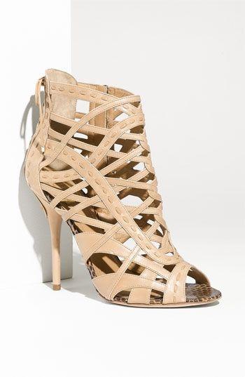 0db70add036b Dior Caged Leather Sandal