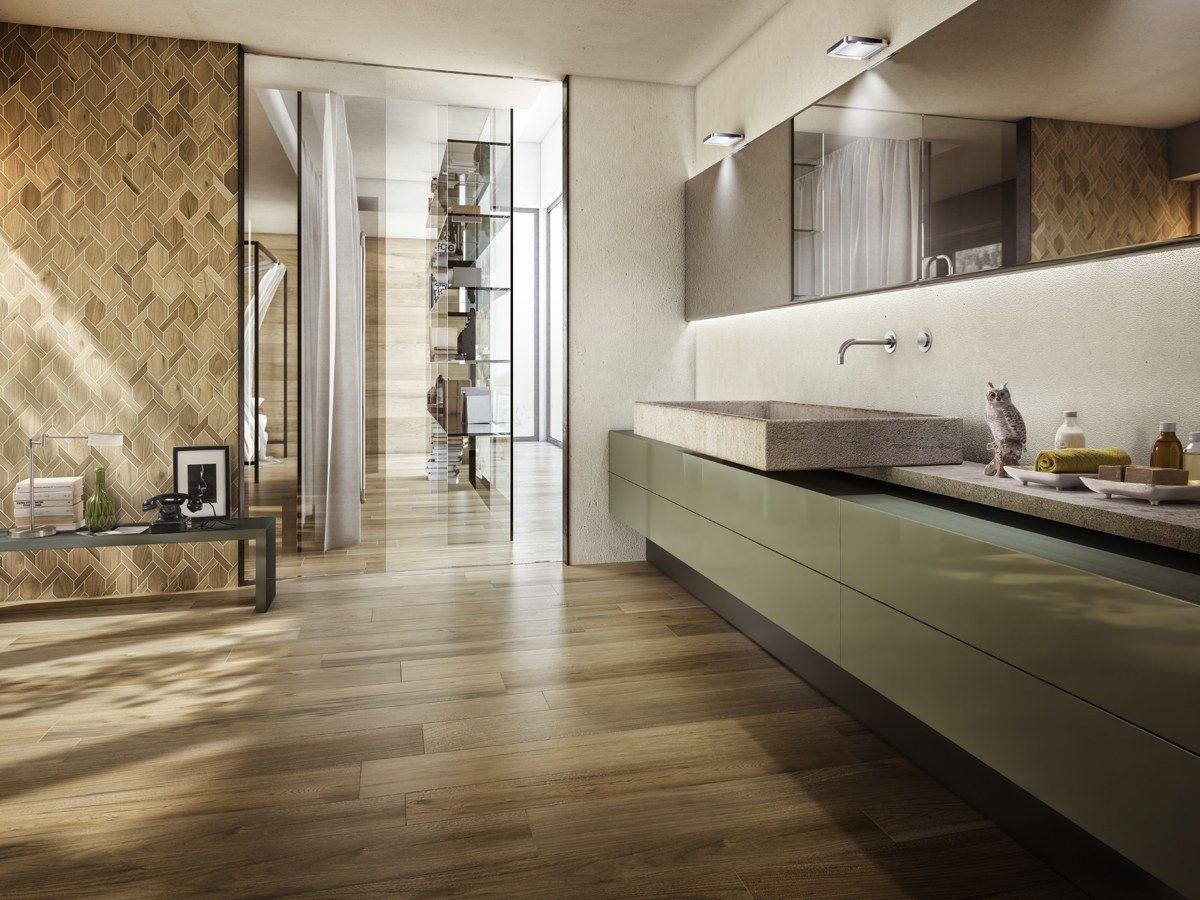 Pavimento in gres porcellanato smaltato effetto legno LE ...