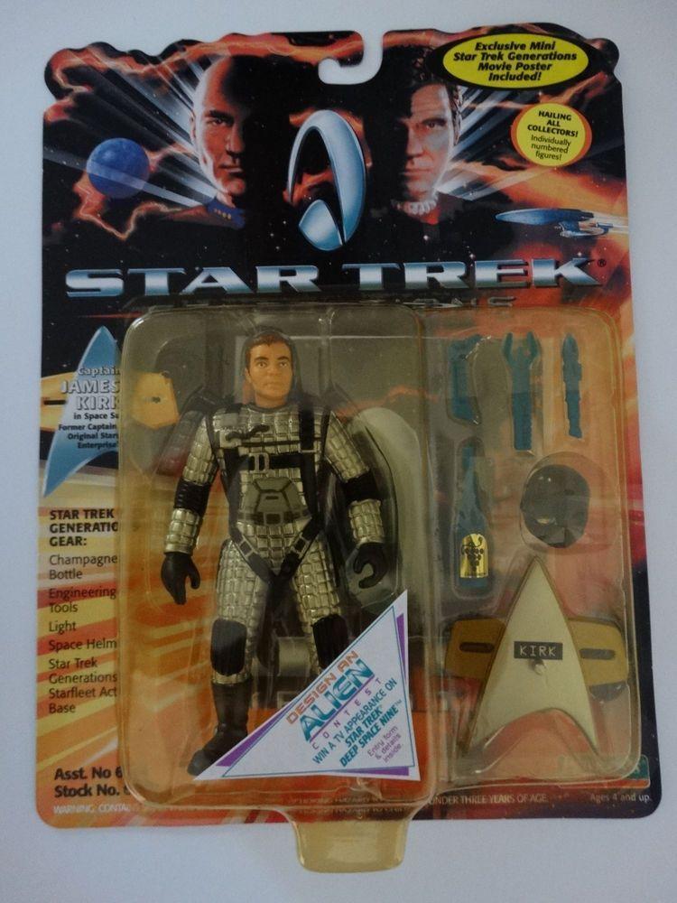 Details about 1994 star trek generations captain james
