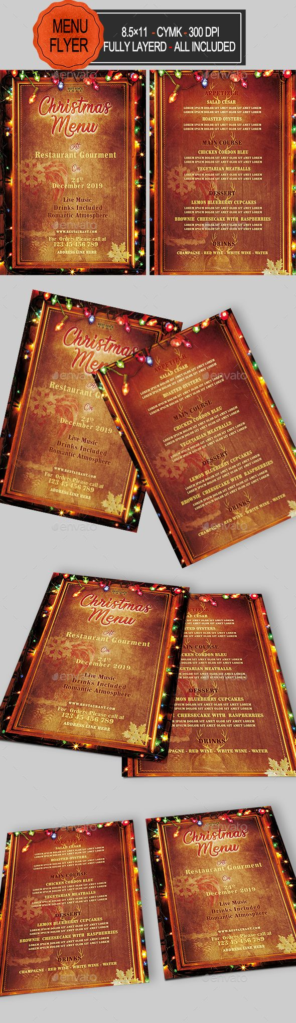 editable menus