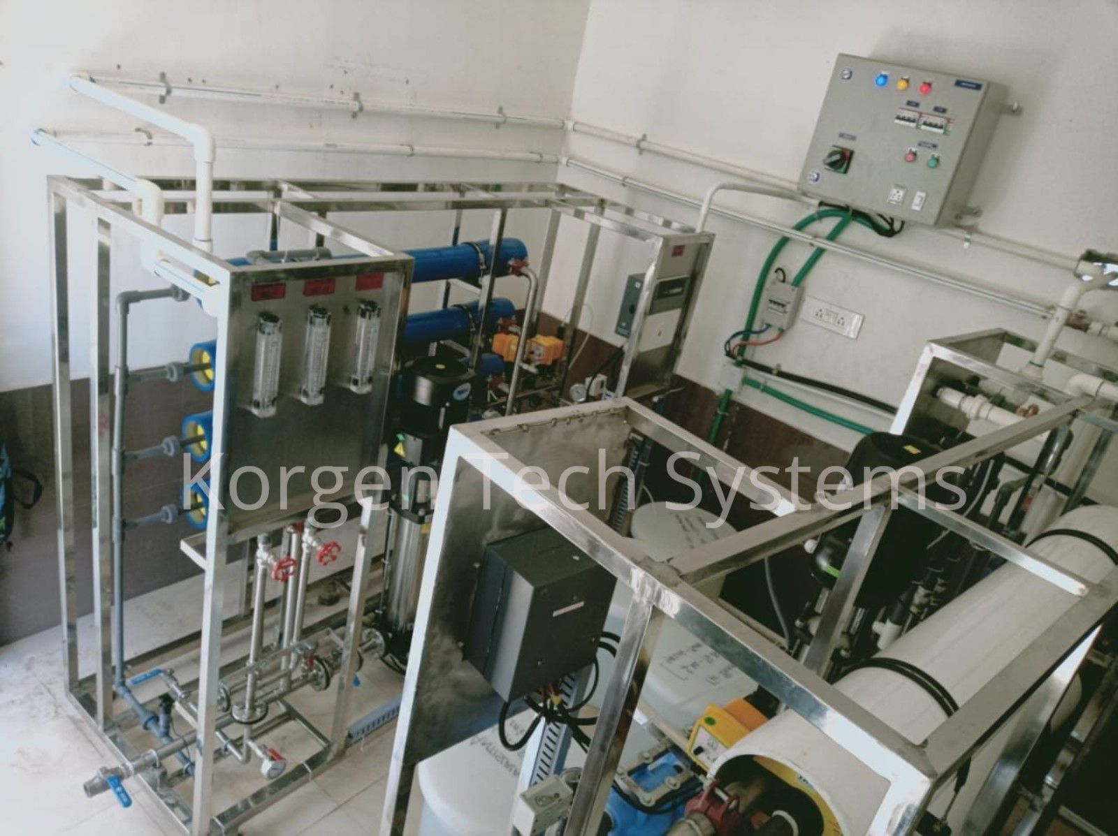 2000 LPH Reverse Osmosis (RO) Plant with a 90 recovery