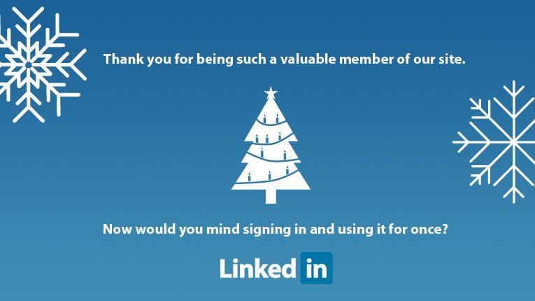 Linkedin Christmas Card Christmas Cards Web Design Agency Cards
