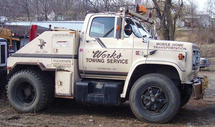 1987 Gmc Mobile Home Toter Trucks Gmc Truck Gmc