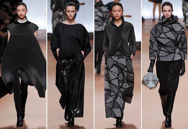 Issey Miyake Fall/Winter 2014-2015 Collection - Paris Fashion Week  #ParisFashionWeek #fashionweek #PFW