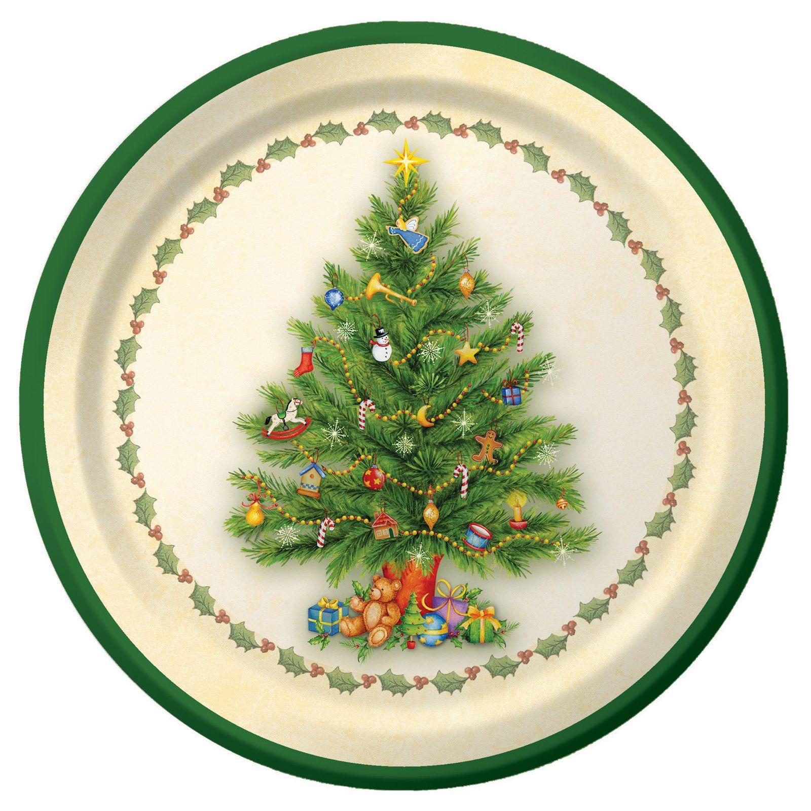Christmas Diy Printable Plate For The Dollhouse Holiday Table Christmas Dinner Plates Christmas Plates Miniature Plates
