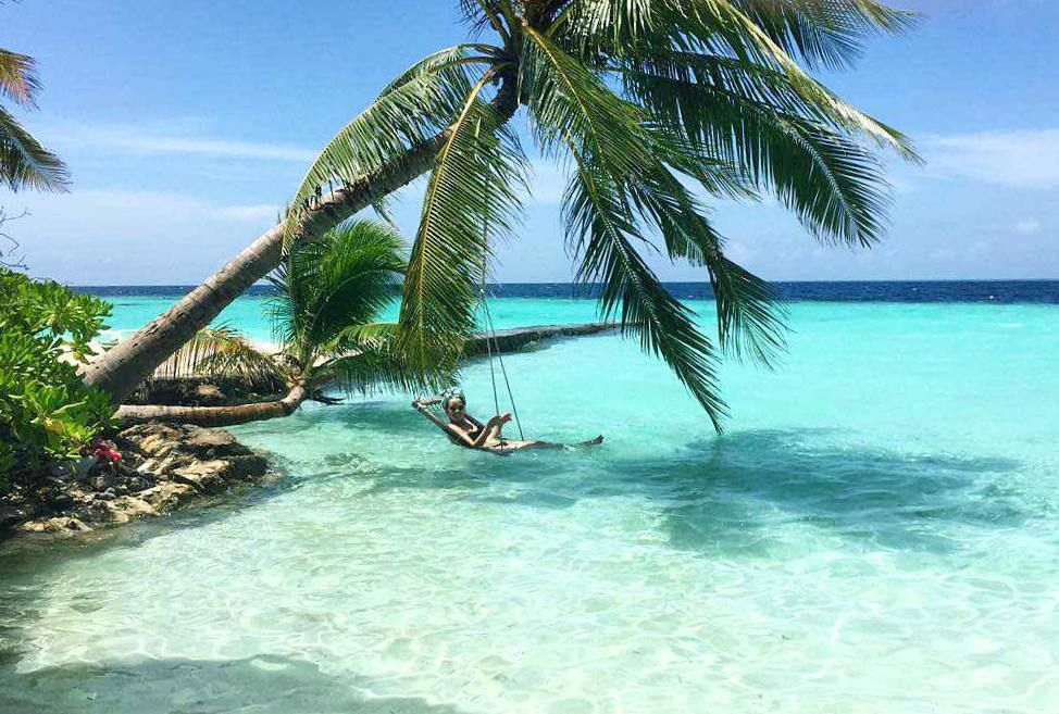 Tropical Island Beach Ambience Sound: Places I Am Meant To Be