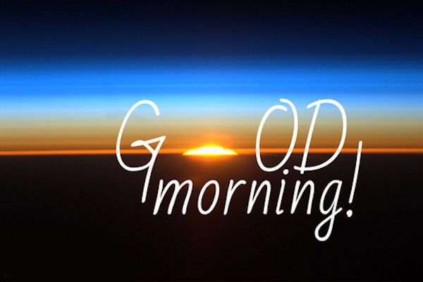 Good Morning Friends, No matter how bad things are, you can at ...