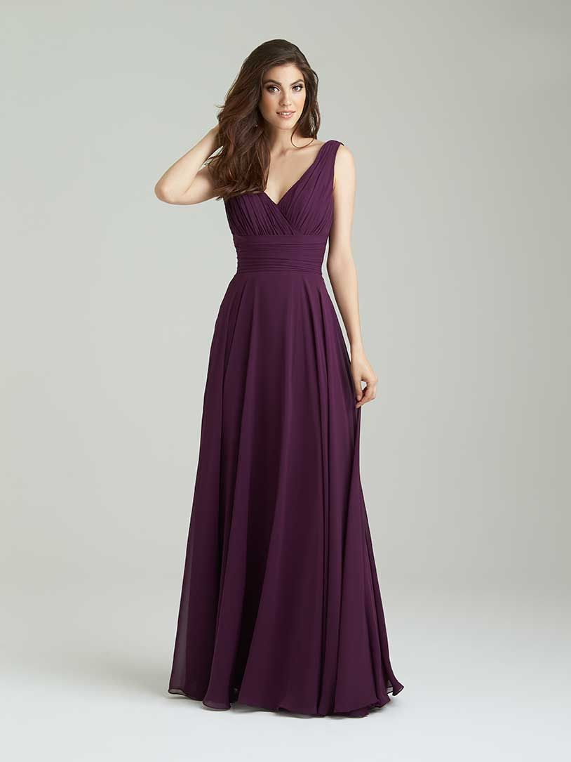4b595fcde67 bridesmaid dress from allurebridals.com possible style in sapphire or  grape  available size 2-28